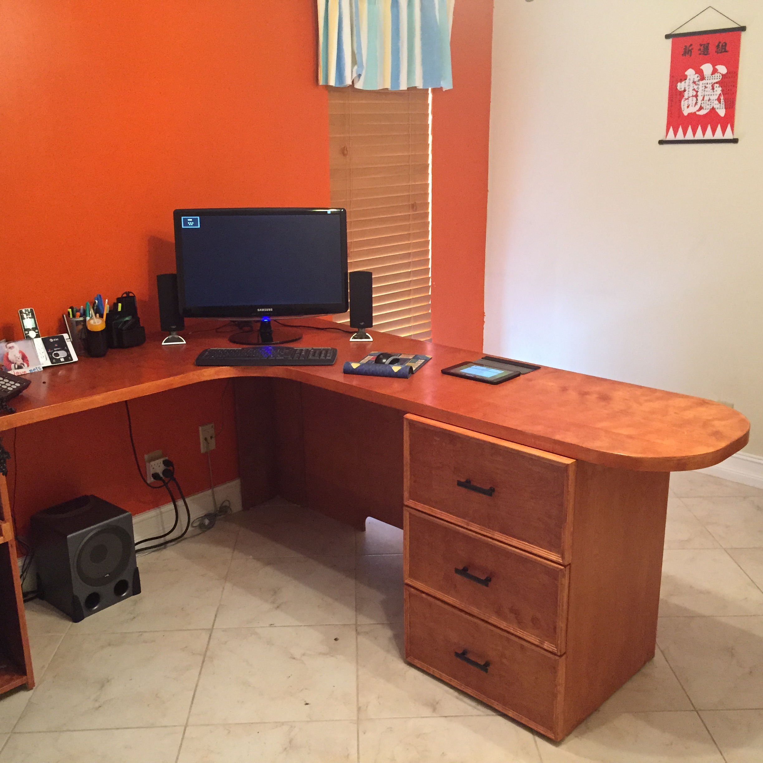 Custom office desk - Custom office desk ...